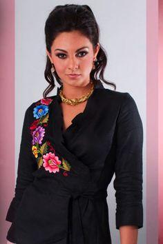 blusas estilo mexicano - Buscar con Google