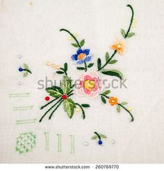 special embroidery hand - Buscar con Google