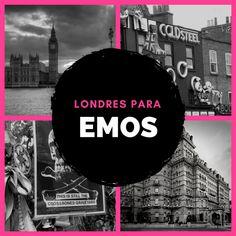 ¿Eres emo y vas a visitar Londres? No te pierdas estas 6 recomendaciones para visitar lugares misteriosos, con una atmósfera especial en Londres.