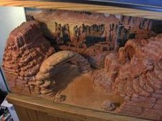 AMAZING MINI CANYON FOR A LEOPARD GECKO! I WANT THIS FOR MY GECKOS! -kamriehubbard