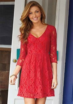 Shania Lace Dress...maybe for rehearsal or bridal shower...