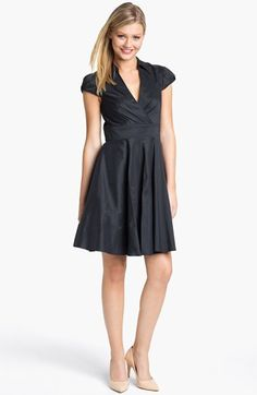 Betsey Johnson Cap Sleeve Shirtdress available at #Nordstrom