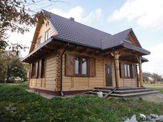 Dom z bali Zawoja g 11 dw garaż domy z drewna