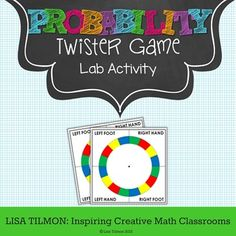 This probability activity focuses on distinguishing between theoretical probability and experimental probability. The discussion prompts extend the content skills to predictions, sample spaces, and simulations. Common Core Standard: and . Teacher Helper, 7th Grade Math, Distinguish Between, Common Core Standards, Math Classroom, Interactive Notebooks, Family Games, Task Cards, Math Centers