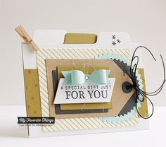 Celebrate You, Confetti Background, Diagonal Stripes Background, Blueprints 17 Die-namics, File Folder Edges Die-namics, Pinking Edge Circle STAX Die-namics, Tag Builder Blueprints 1 Die-namics - Inge Groot #mftstamps
