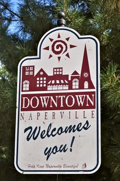 Downtown Naperville welcomes YOU! Naper Settlement, Naperville Illinois, Downers Grove, Lake Forest, River Walk, Good Dates, Best Places To Live, My Dream, The Hamptons