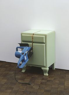 Roman Signer - Bedside Table