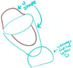 how to draw olaf step by step easy