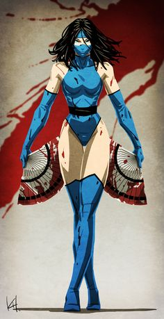 Fatality by kit-kit-kit.deviantart.com on @DeviantArt - More at https://pinterest.com/supergirlsart #kitana #mortal #kombat #mk #mortalkombat #fanart