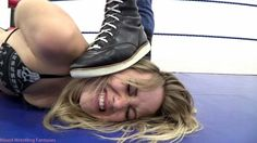 """Becca Learns A Lesson"" from Mixed Wrestling Fantasies"