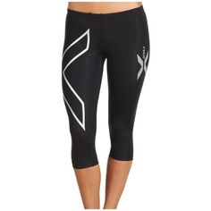 2XU Compression 3/4 Tight Women's Workout ($99) ❤ liked on Polyvore