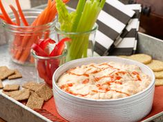 Buffalo Chicken Dip Recipe : Food Network - FoodNetwork.com