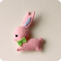 Free Mini Bunny Pattern - for my Shih Tzu, Tia - from http://gingermelondolls.blogspot.ca/2013/03/free-mini-bunny-pattern_20.html