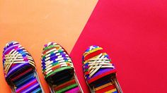 Huara Color Power!! #colourfulshoes