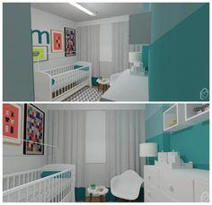 Quarto do bebê - por CDA Projetos