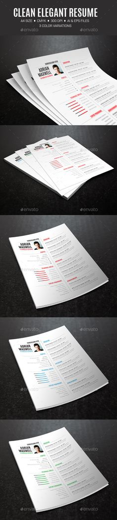 Professional Free Resume Template Design #resumetemplate - business professional resume template