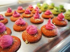 Tanja Grandits at Hiltl Akademie with Junghans Watches Mini Cupcakes, Chefs, Cheesecake, Watches, Desserts, Top, Tailgate Desserts, Deserts, Wristwatches