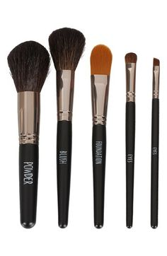 Awesome no brainer brushes! Topshop Gunmetal Brush Set   Nordstrom   NEW Real Techniques brushes makeup -$10 http://youtu.be/rsdio0EoCPQ   #realtechniques #realtechniquesbrushes #makeup #makeupbrushes #makeupartist #makeupeye #eyemakeup #makeupeyes