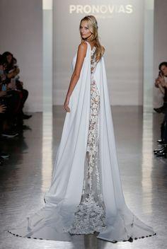 atelier pronovias wedding dress at ny bridal fashion week @pronovias
