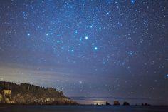 Star Light, Star Bright, So MANY Stars I See Tonight!                            La Push, WA, photo by Kirk Matson