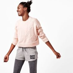 The #IVYPARK collection is inspired by Beyoncé's childhood park, where she found strength to succeed.