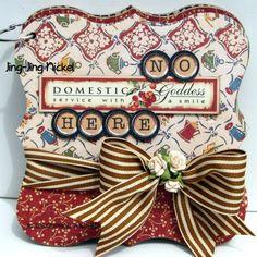 Domestic Goddess-Graphic 45  Mini Album