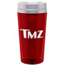 TMZ Store - TMZ 16 oz Drink Tumbler Stainless Steel Liner