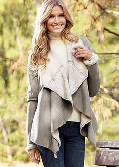 Cascade Faux Shearling Coat - View All Outerwear/Jackets ...