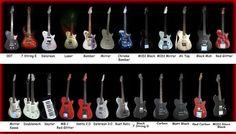 Matt Bellamy's guitars #Muse