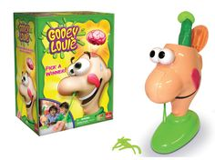 Kids Toys and Games Gooey Louie Pull Gooey Boogers Out Until His Head Pops Open Gooey Louie, Doodle Bear, Open Games, Coule, Baby One More Time, 90s Toys, Thing 1, Game Sales, Toy Store