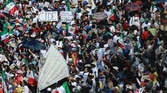 About 20,000 protesters march in Mexico City to send message to Trump administration - http://conservativeread.com/about-20000-protesters-march-in-mexico-city-to-send-message-to-trump-administration/
