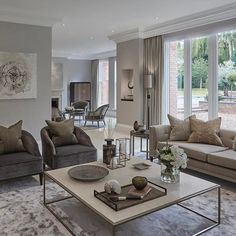 Contemporary living room {wineglasswriter.com} | For the Home ...