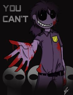 Purple Guy You Can't by rainbowhologram on DeviantArt