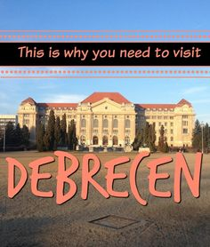 Debrecen tells the story of how I started travelling. Have you ever considered visiting Debrecen? It's Hungary's second largest city.