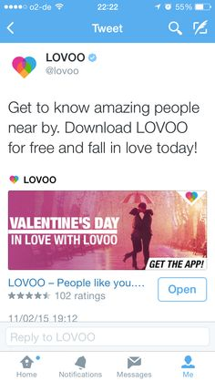 IN LOVE WITH LOVOO