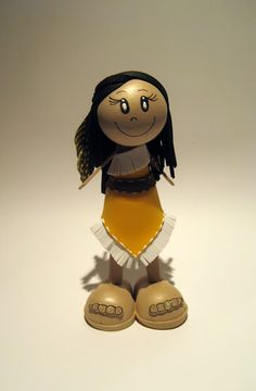 Mini Fofuchas em EVA - Pocahontas 102498630180302518149 - Álbuns Web Picasa