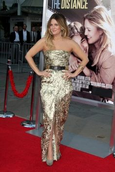Drew Barrymore on the red carpet