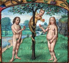 temptation book of hours, Bruges or Ghent 15th century Beinecke Rare Book and Manuscript Library, MS 287, fol. 46r