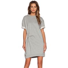 Marc by Marc Jacobs Rylie Sweatshirt Dress Dresses (3.015.290 VND) ❤ liked on Polyvore featuring dresses, sweatshirt dress, marc by marc jacobs and marc by marc jacobs dress