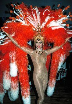 as Josephine Baker in Apollo Theater's Motown tribute show, 1985 ©Walter McBride / Retna Ltd.