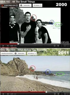 You just realized that One Direction is a copy cat.