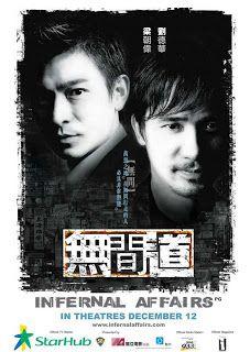 INFERNAL AFFAIRS (2002) CRIME THRILLER - CHINESE - HONG KONG
