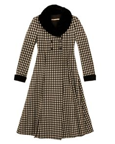 Check Lettie Coat