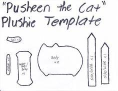 Pusheen The Cat Template by GRNMARCO.deviantart.com on @deviantART