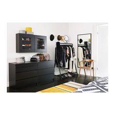 STAVE Spejl - sortbrun, 70x160 cm - IKEA