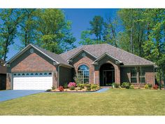1000 images about brick ranch homes on pinterest ranch for Www houseplansandmore com