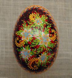 Ukrainian Pysanka by Ulyana GOOSE Egg Shell Pysanky | eBay