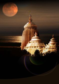 Jagannath Puri Temple, Orissa - apparently has the largest kitchen in the world, serving temple food