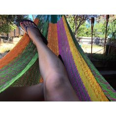 Dunno how I'm going to cope without my afternoon hammock time when work kicks back in ---- #hammock #hammocklife #afternoon #garden #australia #summer by @adayinthelifekaylo