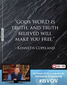 The WORD of God is alive and powerful! Watch Kenneth Copeland on Believer's Voice of Victory as he explains how putting your faith in the truth of God's WORD will always bring His power on the scene of your life. Believe it, speak it and watch things change!- See more at: http://kcm.org/watch/tv-broadcast/believe-the-word-god-powerful-and-true#sthash.R6GY5kYS.dpuf